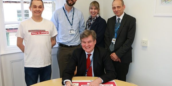 Oxford Health NHS Foundation Trust - Time to Change Employer Pledge Signing