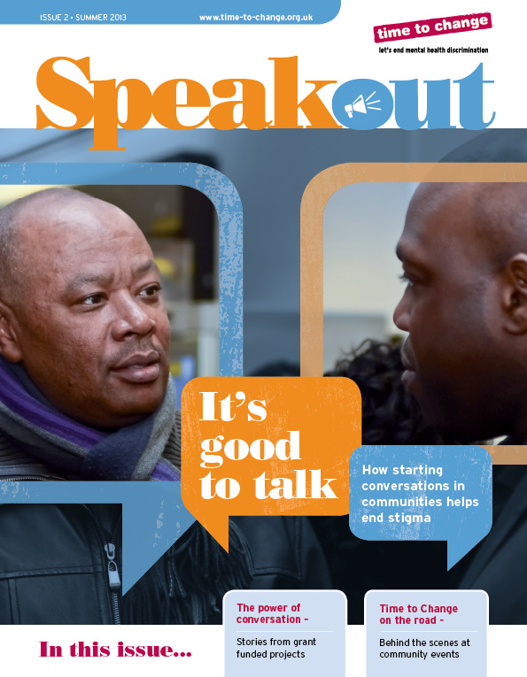 Speak Out_The Community Issue front cover