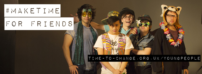 #MakeTime for your friends and watch the Time to Change film