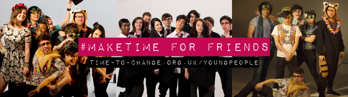 Down load the Time to Change Twitter header image and #MakeTime for your friends