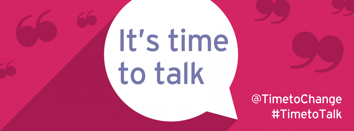 Support the Time to Talk campaign