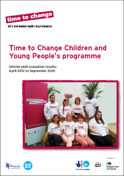 Children and Young People's programme: interim pilot evaluation results
