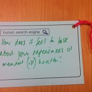 Human search engine photo