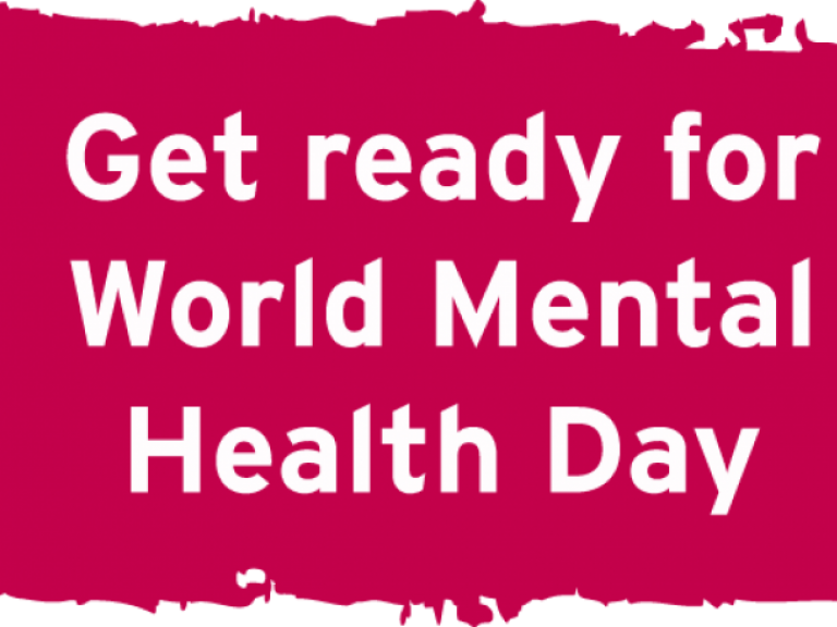 Get ready for World Mental Health Day