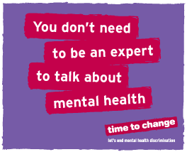 You don't need to be an expert to talk about mental health